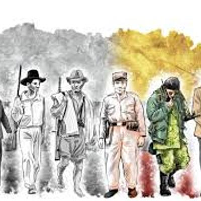 La violencia en Colombia timeline