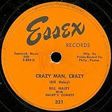 """Bill Haley records """"Crazy Man, Crazy"""""""