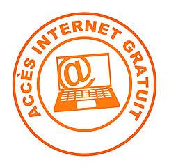 Début de l'acces gratuit à Internet