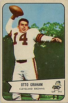 Otto Graham retires