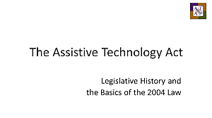 Assistive Technology Act of 2004