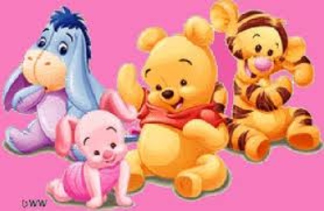 when i was little i loved to see pooh