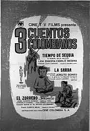 Producción cinematográfica del país incipiente