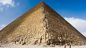 Builders begin great pyramid