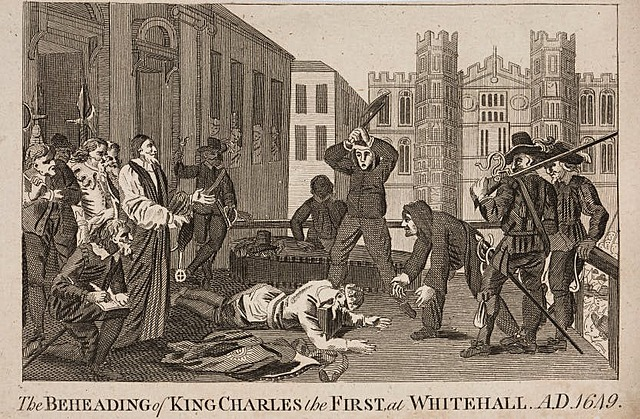 King Charles l was executed
