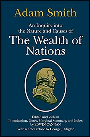 Wealth of Nations is published