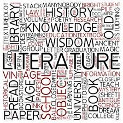 History of English Literature timeline
