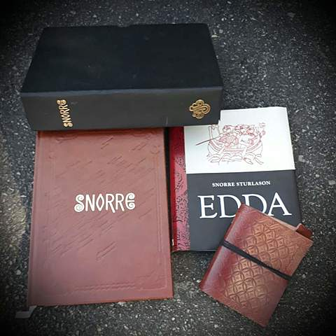 The material of the Eddas.