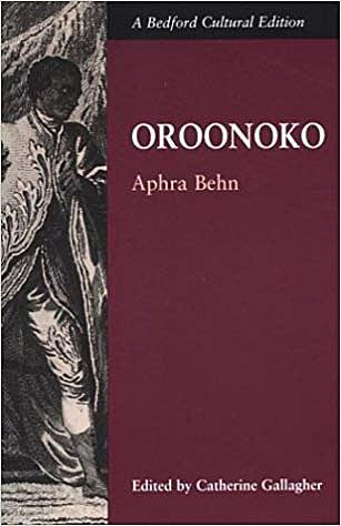 Novel Oroonoko.