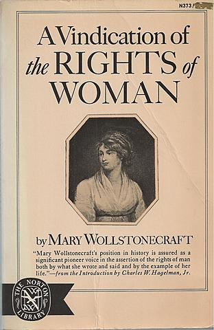 A Vindication of the Rights of Woman.