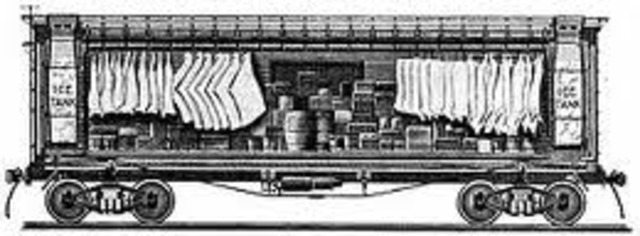 Ice-Cooled Railroad Cars