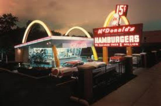 First McDonald's Opened