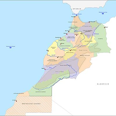 Marokko timeline