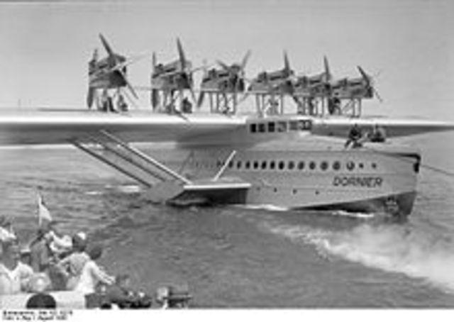 German leviathan lands at La Guardia