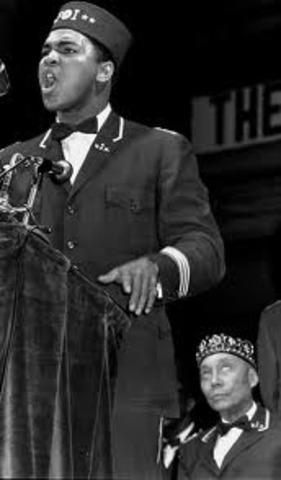 Cassius Clay No Longer