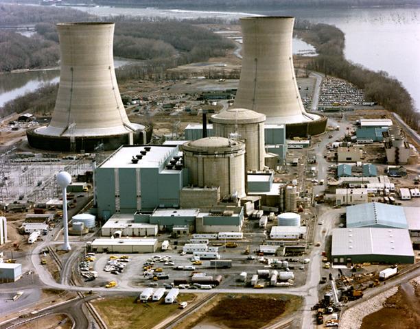 Unfall im Kernkraftwerk Three Mile Island