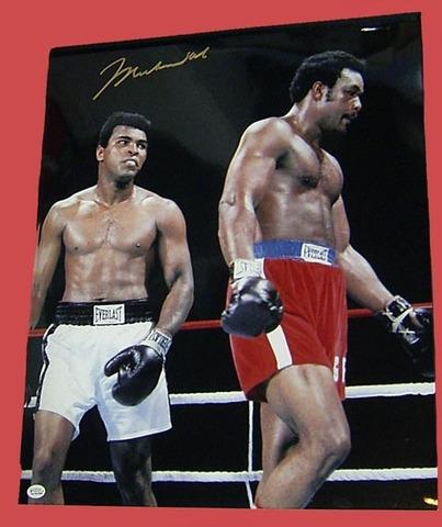 """Rumble in the Jungle"" Muhammad Ali vs George Foreman"
