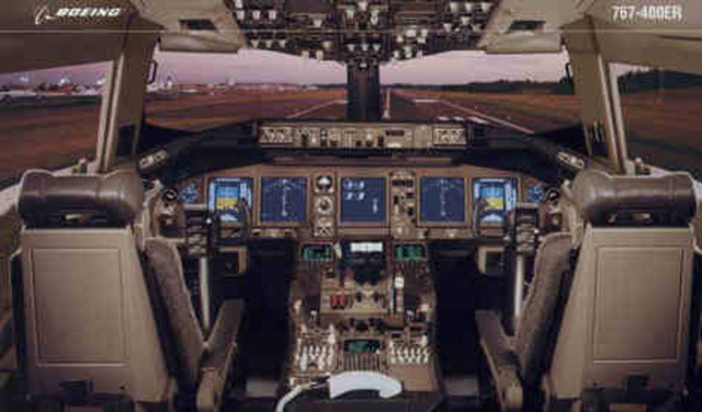 First widebody jet certified for two pilot crew, eliminating flight engineer