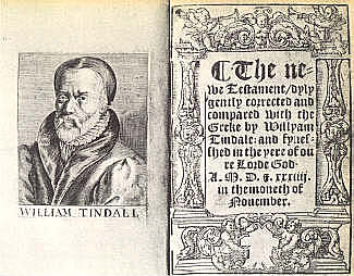 William Tyndell's Translation of the Bible