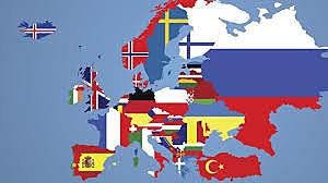 Registro de las edades de muerte en toda Europa