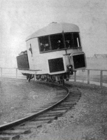 First Gyro Monorail built