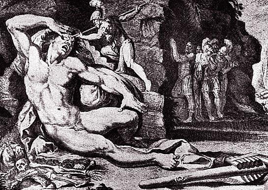 """Apparition du mot """"sauvage"""" - L'Odysée de Homère"""