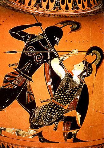 Achille qualifié de sauvage - L'Iliade de Homère