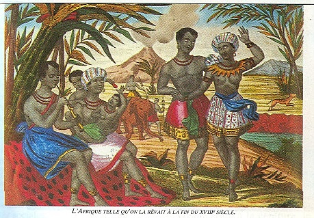 Mythe du bon sauvage - Rousseau