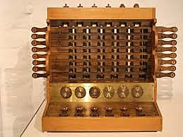 la ``Calculadora ´´ de Wilhelm Schickard