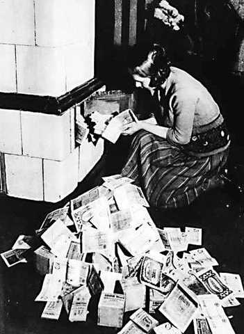 Hyperinflation ends