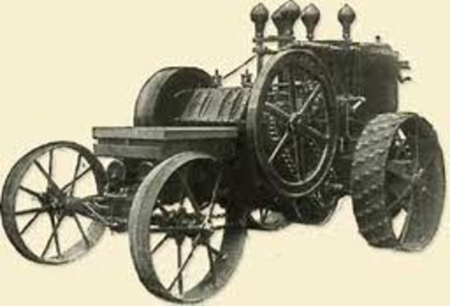 Gas Tractor