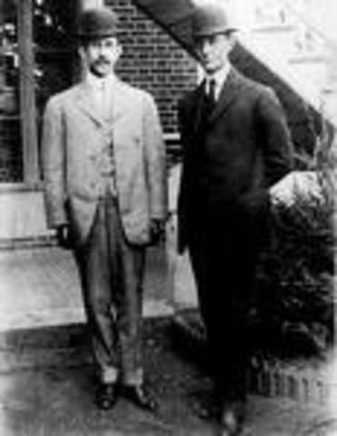 The Airplane was invented by Wilburt & Orville Wright (The Wright Brothers)