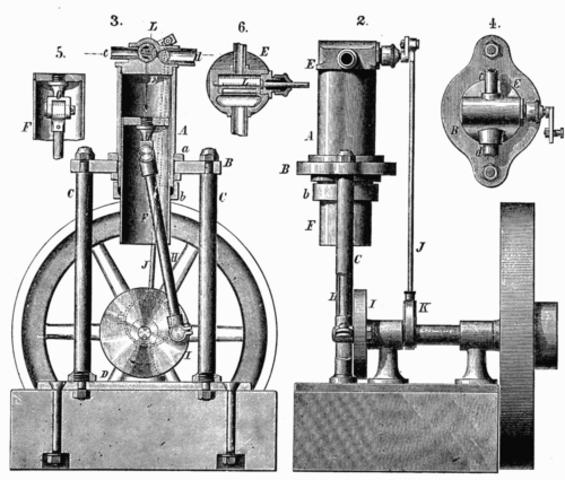 Thomas Savery Patenets First Model
