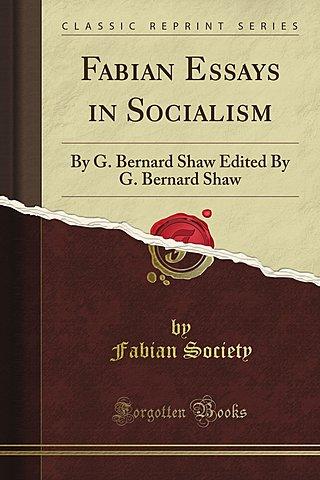 Essays in Socialisman.