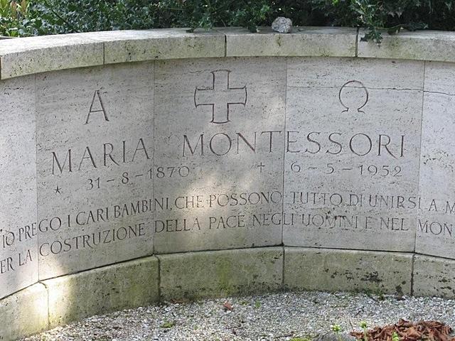 Maria Montessori heriotza(eskola berria)