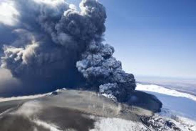 Volcanic ash disrupts air  traffic