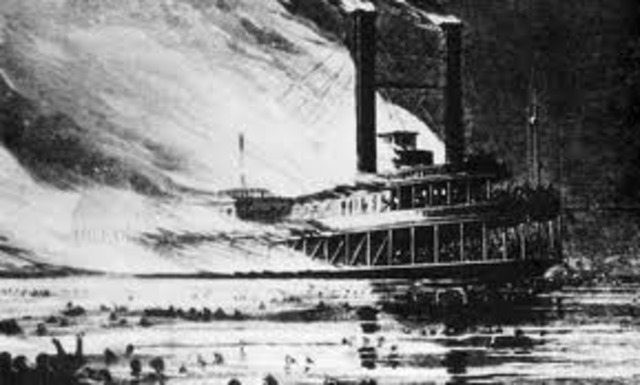 Steamboat Explosion