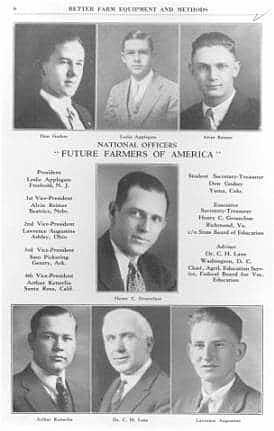 FFA is established in Kansas City