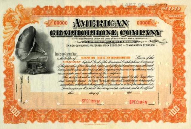 Alexander Graham Bell's Graphophone