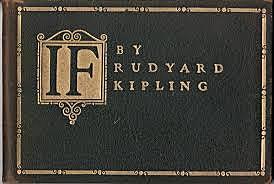 Rudyard Kipling published If.