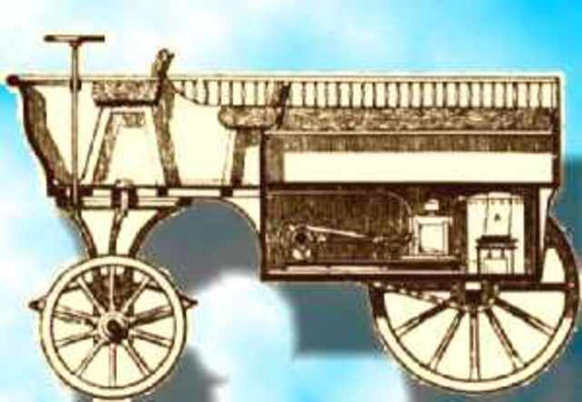 Invention of the first Coal-Gas engine