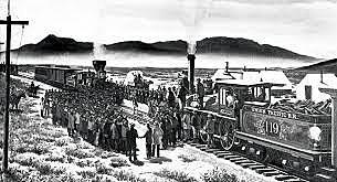 Transcontinental Railroad Ends