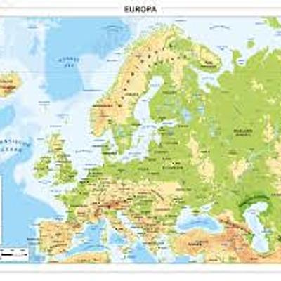 Europa van 1945 tot 2010 timeline