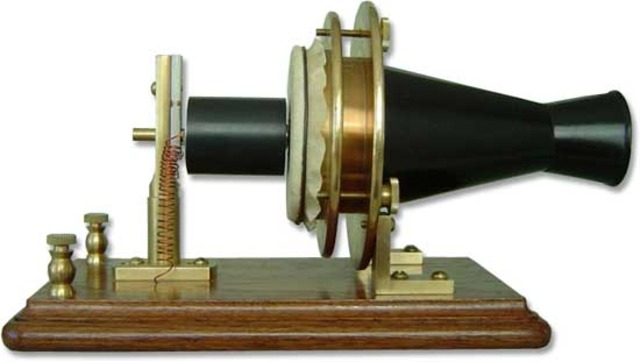 The telephone was first created!
