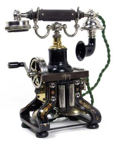 Desk Telephones. (Eiffle Tower)