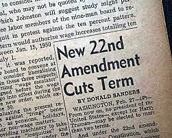 22nd amendment was created