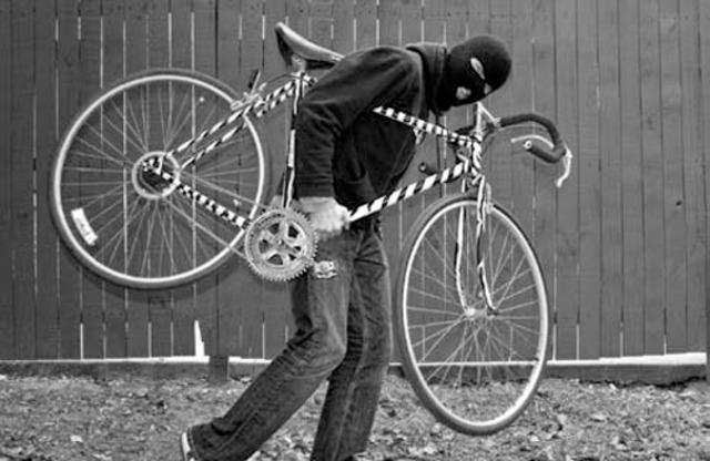 Cassius Clay's bike stolen!