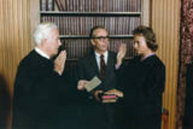 First Woman Appointed to the U.S. Supreme Court