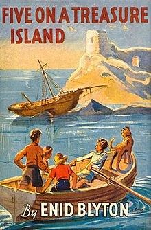 Five in Five on a Treasure Island.
