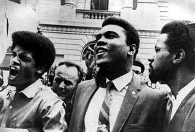 Muhammad Ali refuses to go to US Army